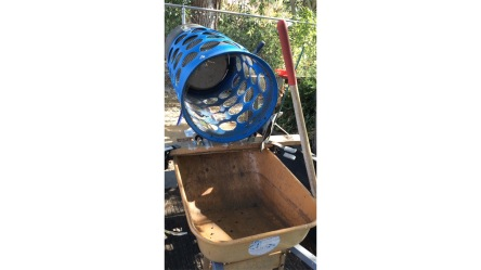 WHEELBARROW BARREL